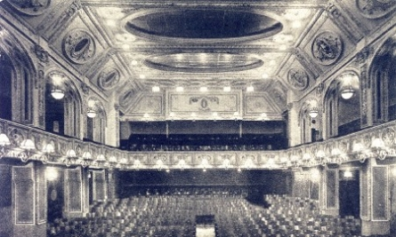 The large screening hall in 1920