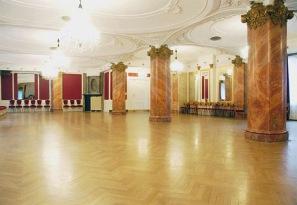 The ballroom today