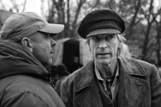 Director Václav Marhoul and actor Julian Sands.