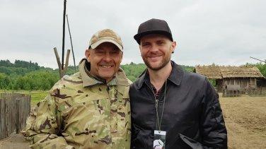 Director Václav Marhoul and myself