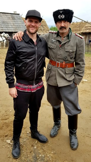 Actor Radim Fiala and myself