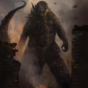 Concept art for Godzilla: King Of The Monsters Image: Courtesy of Warner Bros. Pictures © 2019 Warner Bros. Entertainment Inc. All Rights Reserved.